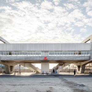 عکس - ایستگاه مترو Orientkaj و Nordhavn , اثر تیم طراحی Cobe و Arup , دانمارک