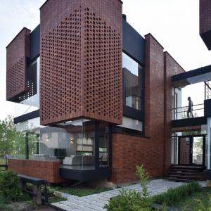 عکس - خانه آجری مازیار،اثر شرکت معماری نقش خاک،مازندران