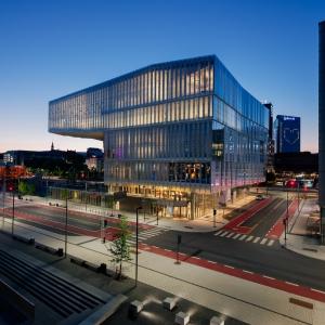 عکس - کتابخانه مرکزی شهر اسلو , اثر آتلیه اسلو (Atelier Oslo) و لوندهاگم (Lundhagem) , نروژ