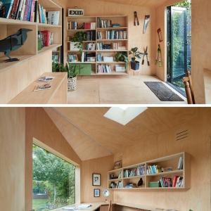 تصویر - طراحی دفترکار یک نویسنده خلاق - معماری