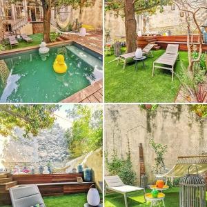 تصویر - قبل و بعد طراحی یک حیاط  - معماری