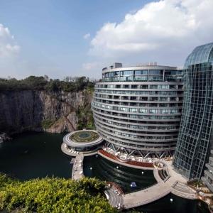عکس - هتل اینترکانتیننتال شانگهای واندرلند (InterContinental Shanghai Wonderland) , اثر استودیو JADE و QA , چین