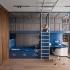 عکس - طراحی اتاق خواب کودک با تجهیزات هیجان انگیز