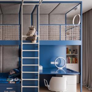 تصویر - طراحی اتاق خواب کودک با تجهیزات هیجان انگیز - معماری