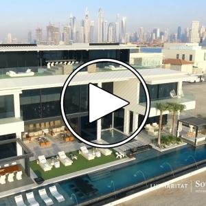 تصویر - ویلا 120 میلیون درهمی Palm Jumeirah , امارات متحده عربی - معماری