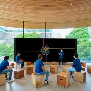 تصویر - نمایشگاه مرکزی اپل (Apple) , اثر نورمن فاستر و همکاران , تایلند - معماری