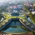 عکس - طراحی مزرعه شهری شگفت انگیزی در روف گاردن ساختمانی در بانکوک تایلند
