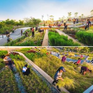 تصویر - طراحی مزرعه شهری شگفت انگیزی در روف گاردن ساختمانی در بانکوک تایلند - معماری