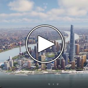 عکس - چین چگونه شانگهای را شبیه سازی کرد ؟