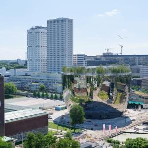 تصویر - انبار موزه Boijmans Van Beuningen  - معماری