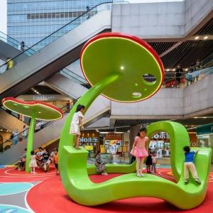 عکس - پروژه Secret Garden Plaza ، اثر تیم طراحی 100 Architects ، چین