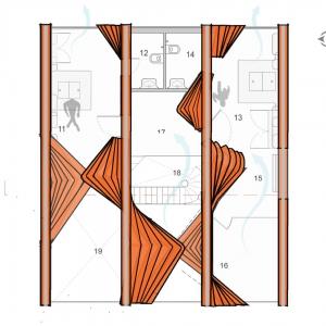 تصویر - خانه Pirouette ، اثر تیم طراحی Wallmakers ، هند - معماری