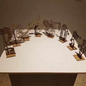 تصویر - رونقی دوباره در اسکله ناتمام کیش , گردهمایی هنرمندان برای ساخت یک مجسمه شهری در ساحل ماشه - معماری