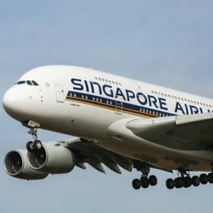عکس - تبدیل هواپیما به رستوران،ایده جدید ایرلاین سنگاپور
