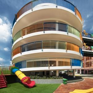 تصویر - مهدکودک آفتابگردان در ویتنام ،اثر شرکت Sunjin Vietnam Joinventure  - معماری