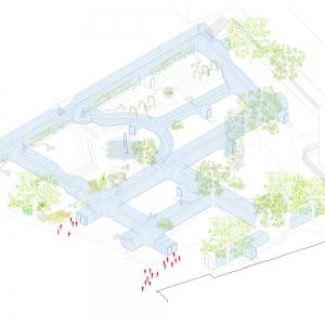 تصویر - برپایی موقت مجموعه ای از خط لوله ها در پاریس - معماری