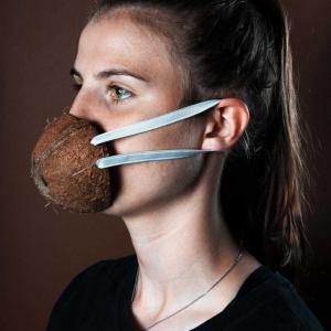 تصویر - ماسکهای خوراکی کرونا - معماری