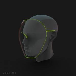 تصویر - شیلد خلاقانه UDAI ، اثر تیم طراحی UDAI , با هدف جلوگری از شیوع ویروس کرونا - معماری