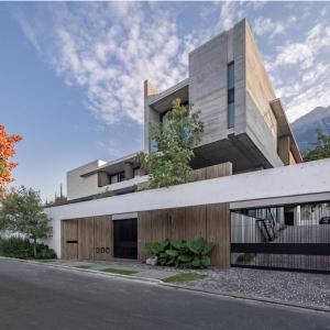 تصویر - خانه بتنی San Pedro Garza Garcia ، اثر تیم طراحی rdlp arquitectos , مکزیک - معماری
