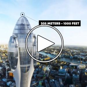 عکس - آینده برج سازی و آسمان خراش های لندن در سال 2030 , بریتانیا