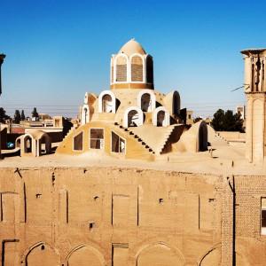 عکس - حفظ حریم خانه تاریخی بروجردیهای کاشان ، ابلاغ طرح جامع بافت تاریخی کاشان