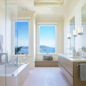 تصویر - چند راه حل برای داشتن یک حمام مرتب - معماری