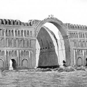 تصویر - سقف ایوان مدائن در عراق فرو ریخت - معماری