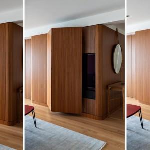 عکس - اجرای تلویزیون مخفی در آپارتمانی واقع در نیویورک