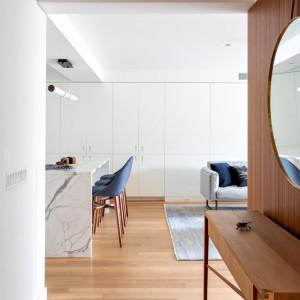 تصویر - اجرای تلویزیون مخفی در آپارتمانی واقع در نیویورک - معماری