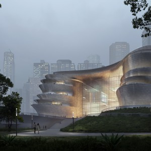عکس - موزه علم و فناوری , اثر تیم طراحی زاها حدید (Zaha Hadid Architects) , چین