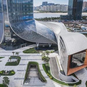 عکس - مرکز بین المللی مالی Hengqin ، اثر تیم طراحی Aedas , چین