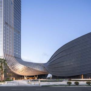 تصویر - مرکز بین المللی مالی Hengqin ، اثر تیم طراحی Aedas , چین - معماری