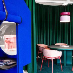 عکس - طراحی دفتر کار برند اکسسوری LOQI در برلین