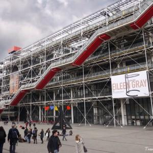 تصویر - تعطیلی بزرگترین موزه هنر مدرن جهان برای 4 سال , مرمت مرکز فرهنگی پمپیدو - معماری