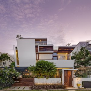 عکس - مسکونی Floating Walls ، اثر Crest Architects , هند