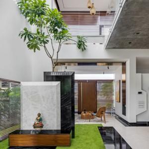 تصویر - مسکونی Floating Walls ، اثر Crest Architects , هند - معماری