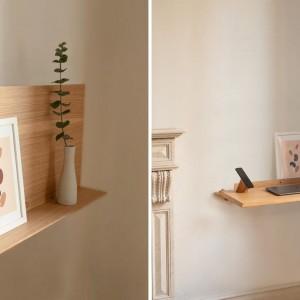 عکس - طبقه کوچک قابل تبدیل به میز