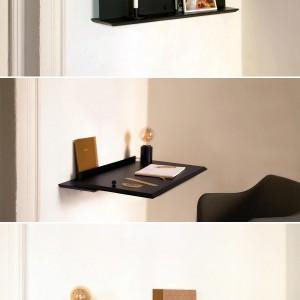 تصویر - طبقه کوچک قابل تبدیل به میز - معماری