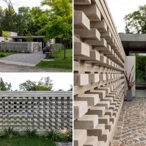 عکس - طراحی خاص دیوارهای خانه ای در بوینس آیرس آرژانتین