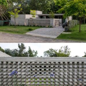 تصویر - طراحی خاص دیوارهای خانه ای در بوینس آیرس آرژانتین - معماری