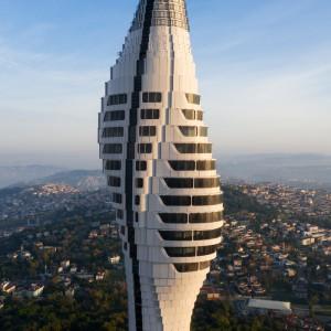 عکس - تصاویر جدید از برج تلویزیونی و رادیویی استانبول