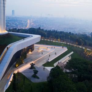 تصویر - تصاویر جدید از برج تلویزیونی و رادیویی استانبول - معماری