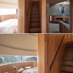 تصویر - خانه قارچی شکل با دیدی پانوراما به اطراف - معماری