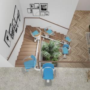تصویر -  بالابر پله x کاری از استودیو طراحی  pearsonlloyd - معماری