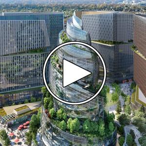 تصویر - دفتر مرکزی جدید  2.5 میلیاردی آمازون (Amazon) - معماری