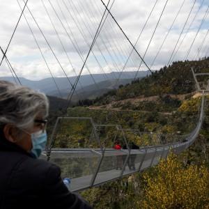 عکس - افتتاح طولانیترین پل معلق جهان در پرتغال