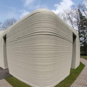 تصویر - نخستین خانه اروپا با فناوری چاپ سهبعدی - معماری