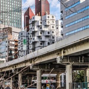 عکس - تخریب احتمالی برج کپسولی Nakagin اثر کیشو کوروکاوا