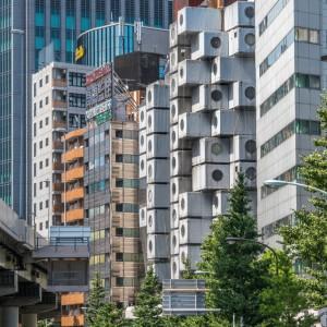 تصویر - تخریب احتمالی برج کپسولی Nakagin اثر کیشو کوروکاوا - معماری
