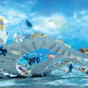 تصویر - پارک مجسمه های زیر آب (underwater sculpture park) , اثر تیم طراحی OMA , آمریکا  - معماری